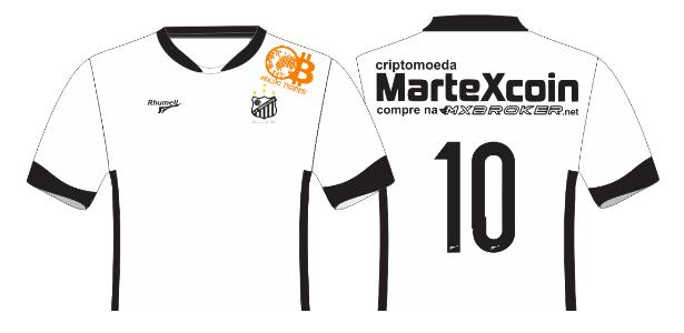 Bragantino estreará novos patrocínios na camisa, ambos ligados a criptomoedas