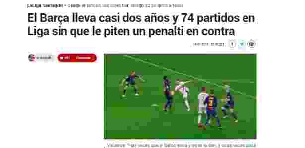 Marca acusa o Barcelona - Marca/Reprodução - Marca/Reprodução