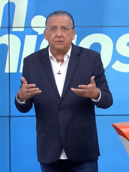 """Galvão Bueno no programa """"Bem, Amigos"""", da SporTV - reprodução/SporTV"""