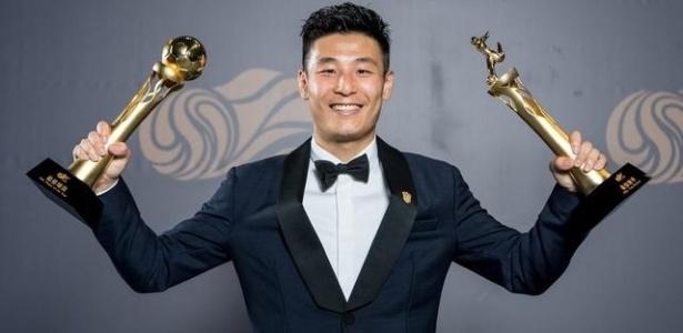Wu Lei terminou como o melhor jogador do Campeonato Chinês - Reprodução/Twitter