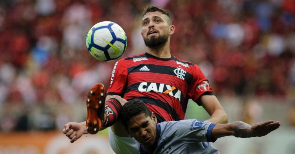 Léo Duarte, zagueiro do Flamengo
