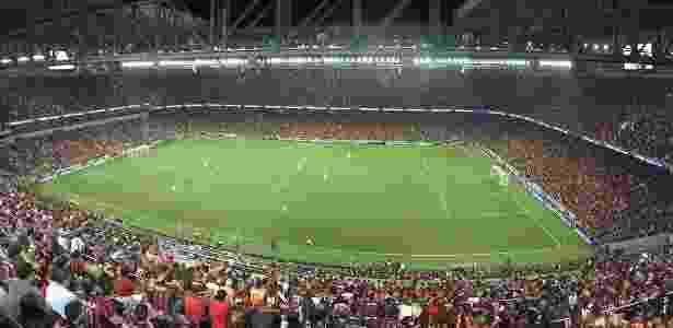 Torcida do Atlético-PR lotou a Arena da Baixada - Divulgação/Atlético-PR - Divulgação/Atlético-PR