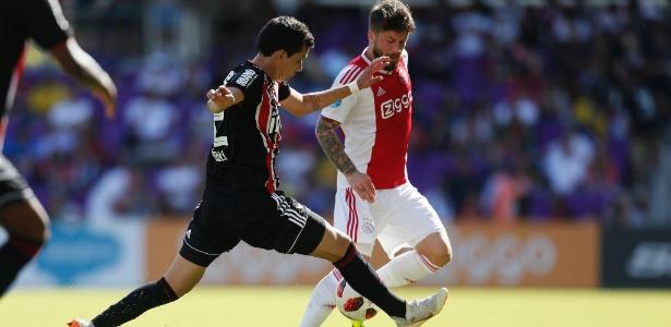 Pablo mostrou muita disposição para combater os zagueiros do Ajax - Rafael Ribeiro/Florida Cup