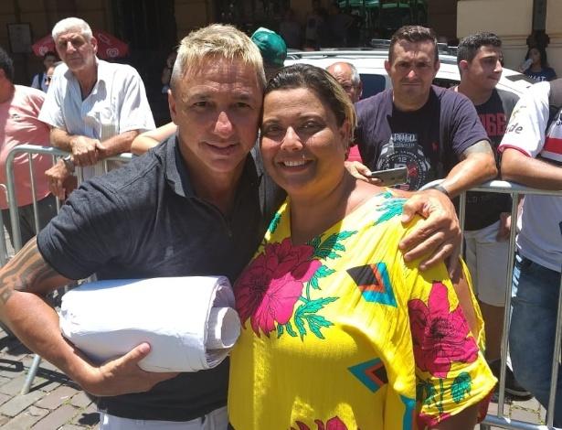 Paulo Nunes recebeu carta feita por Priscila há 20 anos - Arquivo pessoal