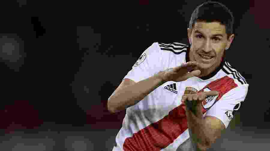 Nacho Fernández é um dos jogadores que podem reforçar o Internacional para 2020 - Juan Mabromata/AFP