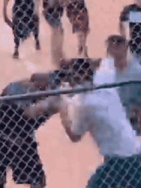 Briga generealizada em jogo de beisebol juvenil nos EUA - Reprodução