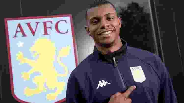 Wesley é a contratação mais cara da história do Aston Villa - Divulgação/Aston Villa