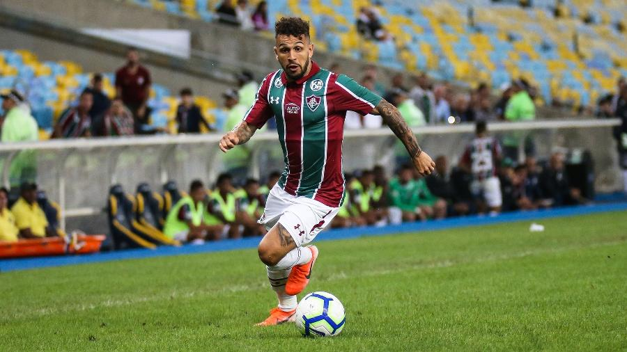 Wellington Nem volta ao Fluminense contra o Bahia - FOTO: LUCAS MERÇON/ FLUMINENSE F.C