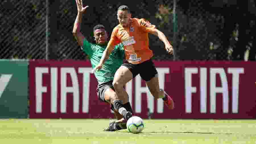 Rafael Papagaio deve ser atacante titular do Atlético-MG diante do Athletico Paranaense - Bruno Cantini/Divulgação/Atlético-MG
