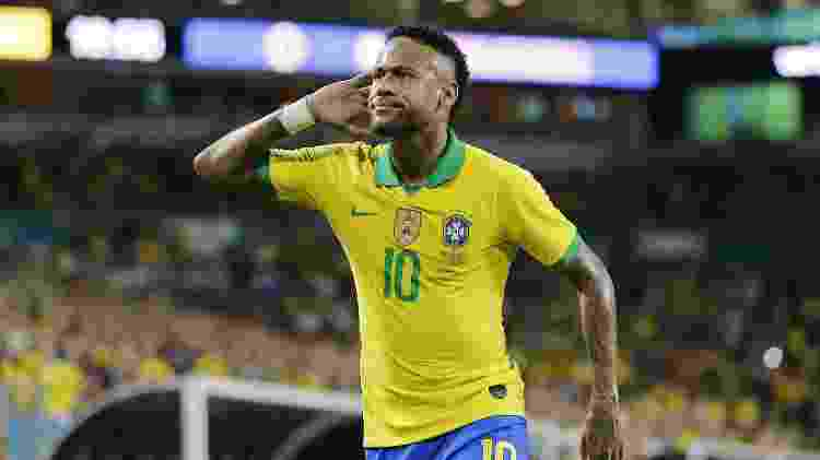 Neymar amistoso - Michael Reaves/Getty Images/AFP - Michael Reaves/Getty Images/AFP