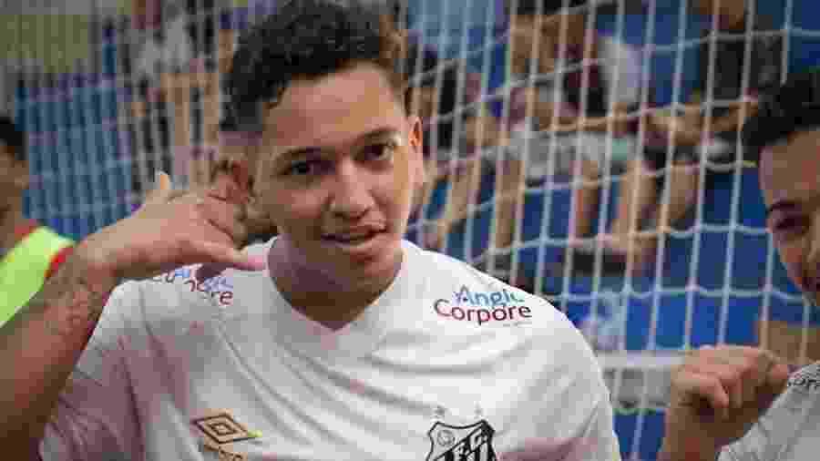 Nicolas Coelho chegou ao Santos aos 6 anos e busca novos desafios em 2020, na categoria sub-20 do futsal - Reprodução/Instagram