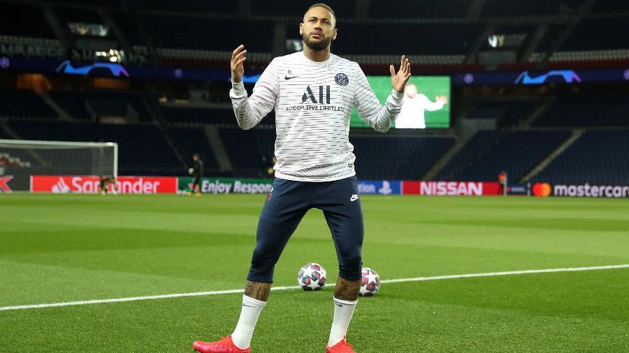 Neymar se envolveu em confusão que acabou com a expulsão de Emre Can - UEFA Pool/Handout via REUTERS