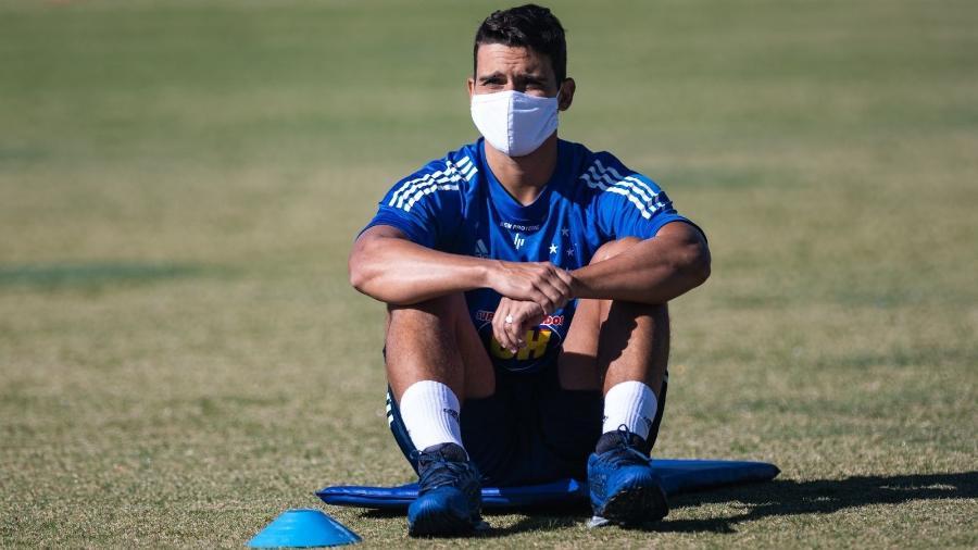 Jean está afastado das atividades do Cruzeiro e cumpre isolamento social - Bruno Haddad/Cruzeiro