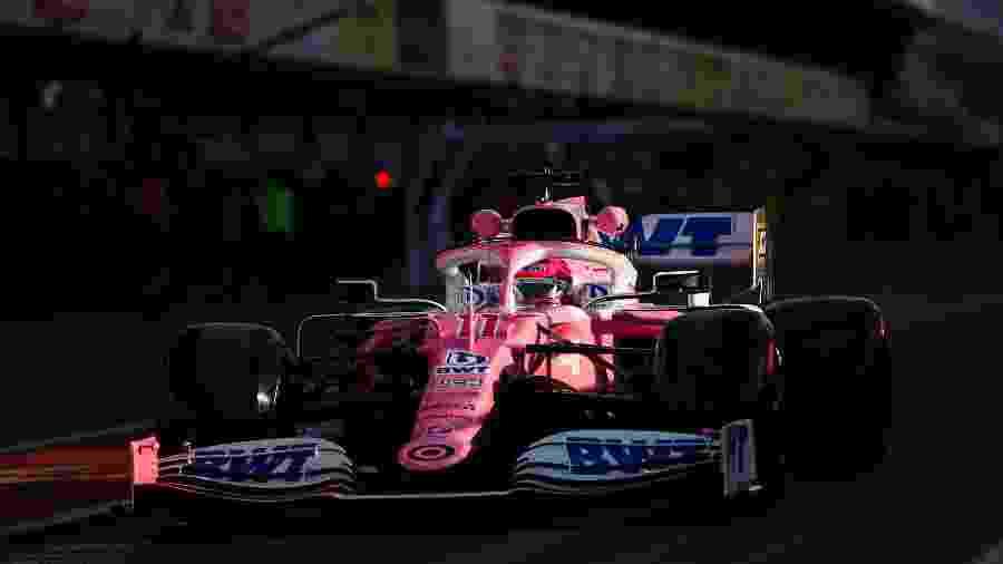 Carro da Racing Point promete uma boa temporada para o time - Divulgação/Racing Point
