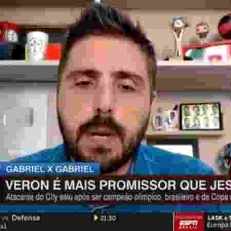 Nicola diz que Palmeiras deve mirar valores de Vini Jr e Rodrygo em futura negociação de Verón - Reprodução/ESPN