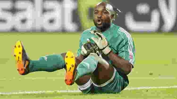 Robert Kidiaba entrou para a história como goleiro do TP Mazembe - Reuters - Reuters