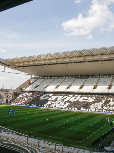 Neo Química Arena antes de Corinthians x Inter de Limeira-SP pelo Paulistão 2021 - Marcello Zambrana/AGIF