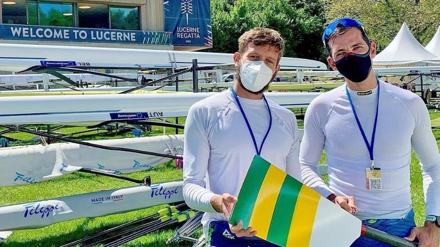 Brasileiros no Pré-Olímpico de Remo - Divulgação