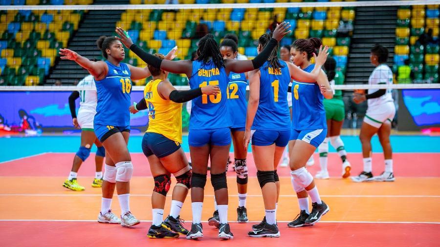 Seleção de vôlei de Ruanda tem quatro brasileiras - Divulgação/Federação Africana de Vôlei