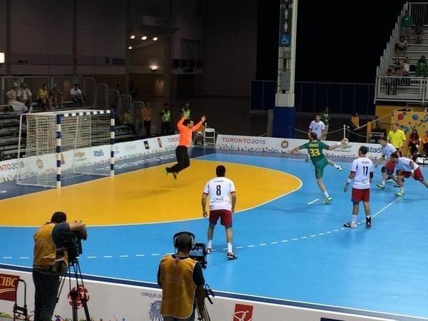 Com a vitória de 34 a 24 sobre o Chile a seleção brasileira chegou a sétima final consecutiva do handebol masculino no Pan