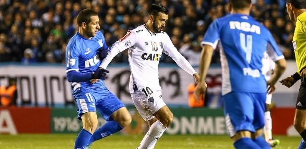 Dátolo disputou a Copa Libertadores três vezes pelo Atlético-MG