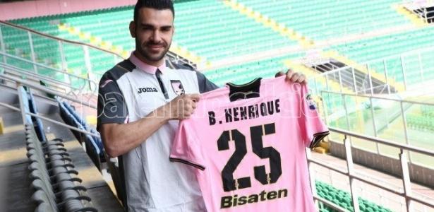 Bruno Henrique firmou contrato por quatro anos com o Palermo