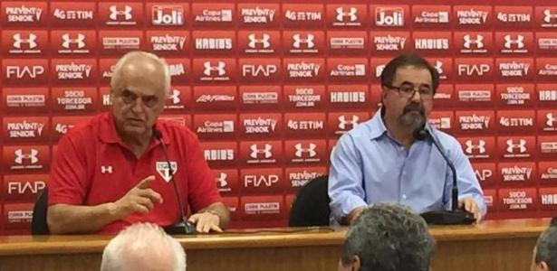 Marco Aurélio Cunha retornou como diretor-executivo ao São Paulo em momento de crise