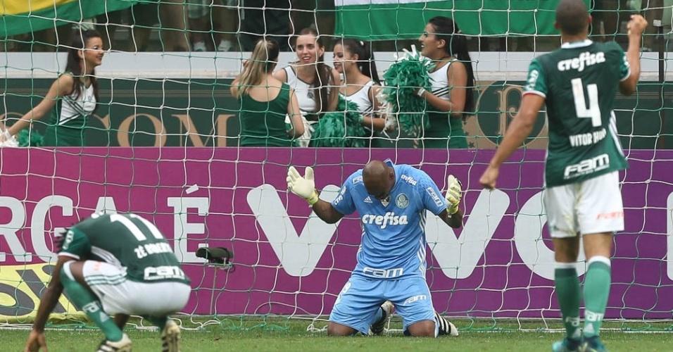 Palmeiras Jailson Vitor Hugo Zé Roberto alívio