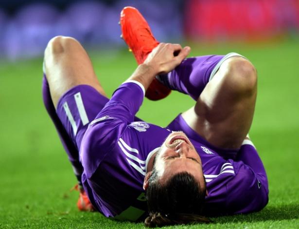 Gareth Bale lesiona o tornozelo em jogo do Real Madrid contra o Sporting