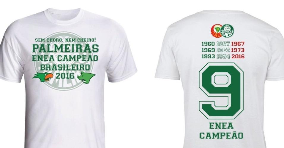 Palmeiras enea campeão camisa