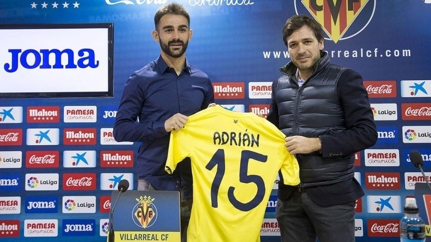 Adrián Lopez (atacante) - do Porto (POR) para o Villarreal (ESP) - empréstimo
