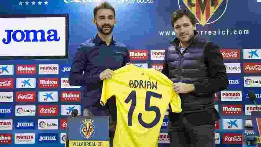 Adrián Lopez (atacante) - do Porto (POR) para o Villarreal (ESP) - empréstimo - Divulgação/Villarreal