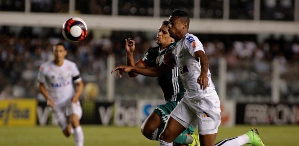 Jean se machucou no jogo entre Palmeiras e Santos