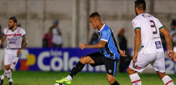 Everton jogou mais adiantado e não conseguiu levar perigo ao gol do São Paulo-RS