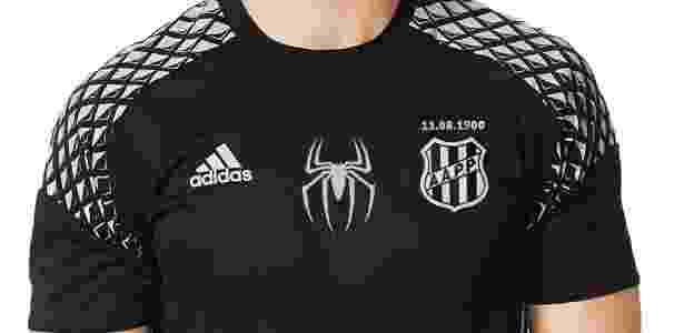 a615ddb8fc Ponte Preta lança camisa especial em homenagem ao goleiro Aranha ...