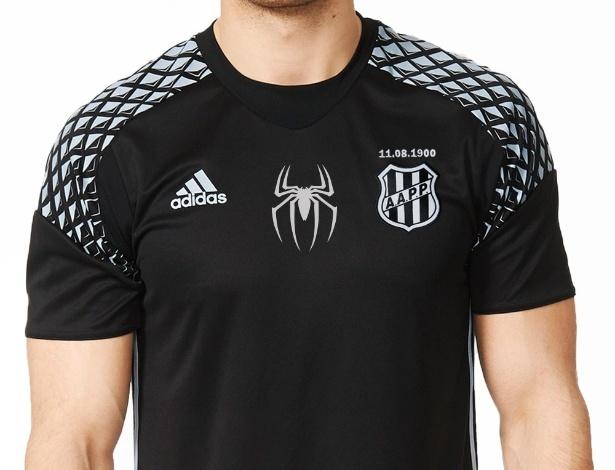 Camisas serão entregues 26 de abril, dia do goleiro