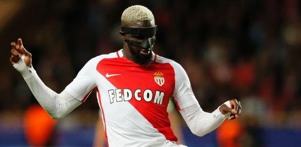 Bakayoko em ação pelo Monaco na Liga dos Campeões