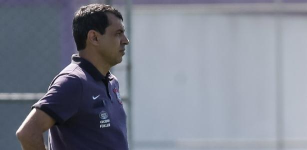 Carille busca o segundo título no comando do Corinthians neste ano