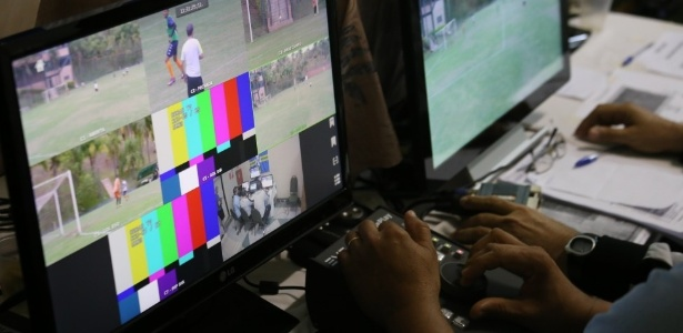 Imagem do curso de capacitação do árbitro de vídeo da CBF - Marcos Paulo Rebelo/CBF
