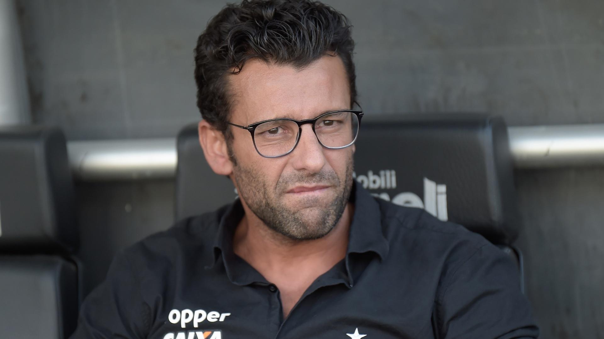 Alberto Valentim comanda o Botafogo na primeira final do Campeonato Carioca