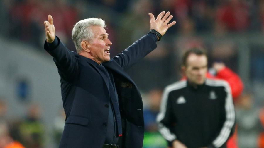 Jupp Heynckes comanda o Bayern contra o Sevilla - REUTERS