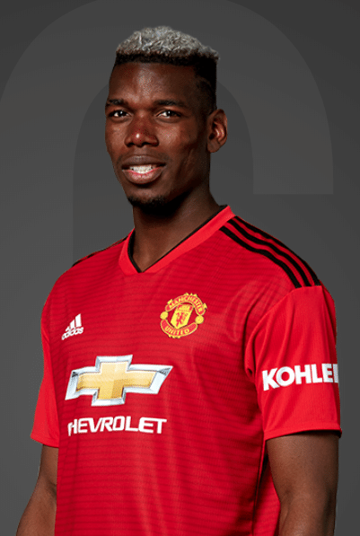 Paul Pogba, volante do Manchester United