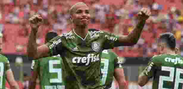 Deyverson tem três gols marcados na temporada - TIAGO CALDAS/FOTOARENA/ESTADÃO CONTEÚDO