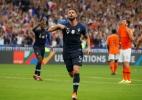 Giroud encerra jejum da Copa e garante vitória da França contra a Holanda - CHARLES PLATIAU/REUTERS