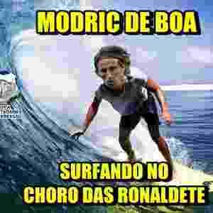 Meme Fifa The Best: Modric - Reprodução/Twitter