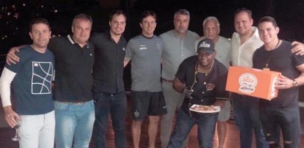 Diretoria do Atlético-MG fez churrasco há uma semana, e torcida se indignou sem saber data - Reprodução Instagram