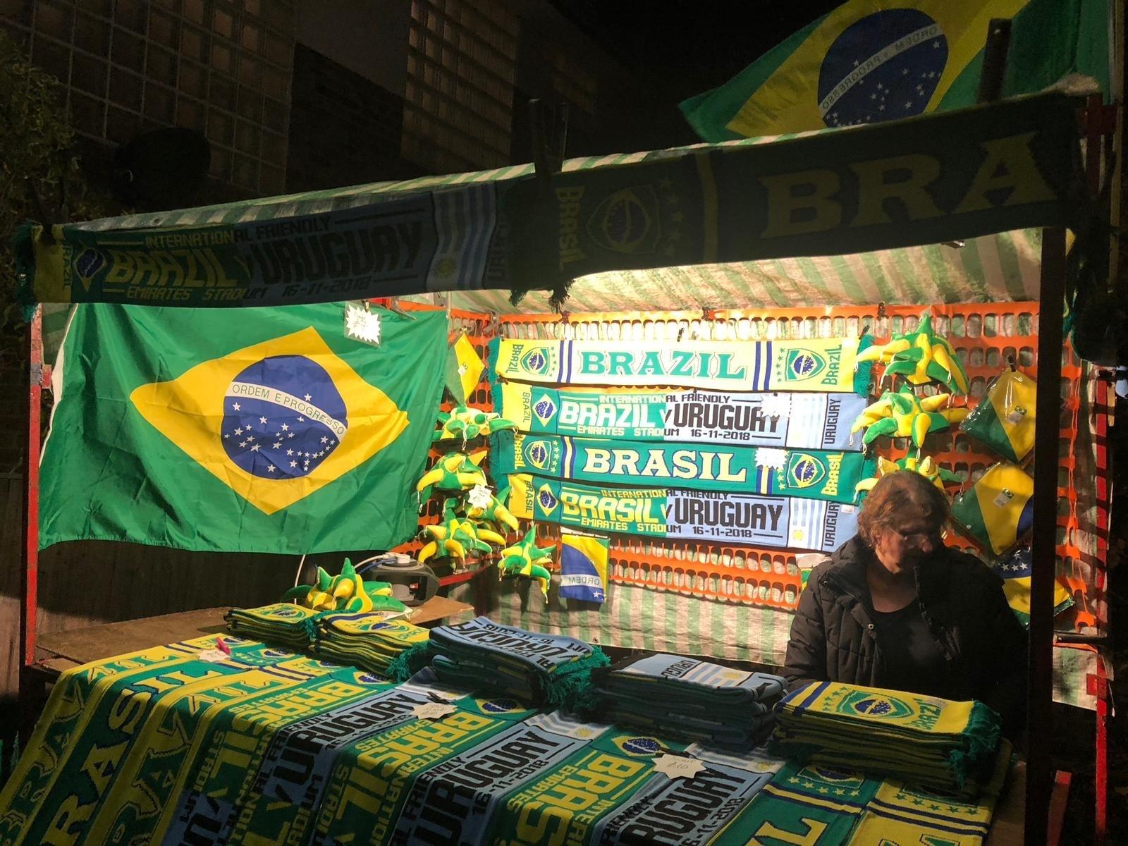 Brasil Uruguai venda Emirates Stadium