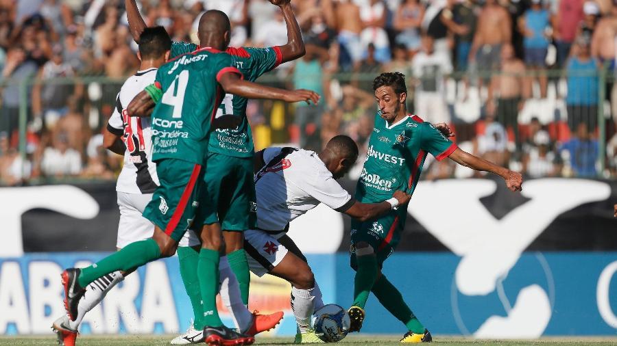 Vasco e Portuguesa se enfrentam nesta quarta-feira (3) pela 1ª rodada da Taça Guanabara