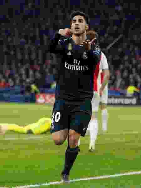 Marco Asensio Real Madrid - Eva Plevier/Reuters