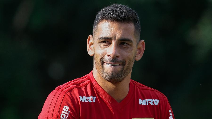 Diego Souza, atacante do São Paulo - Marcello Zambrana/AGIF